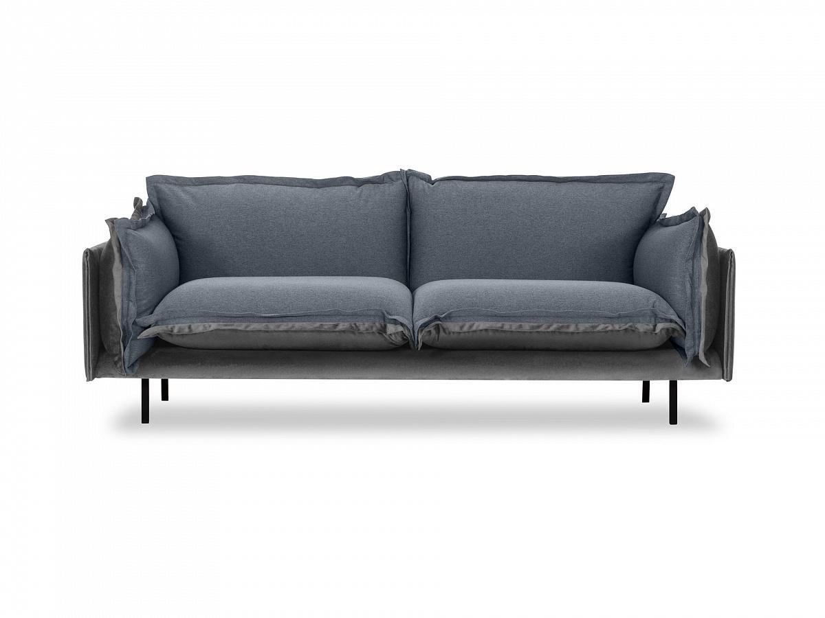 Ogogo диван двухместный barcelona серый 126193/5