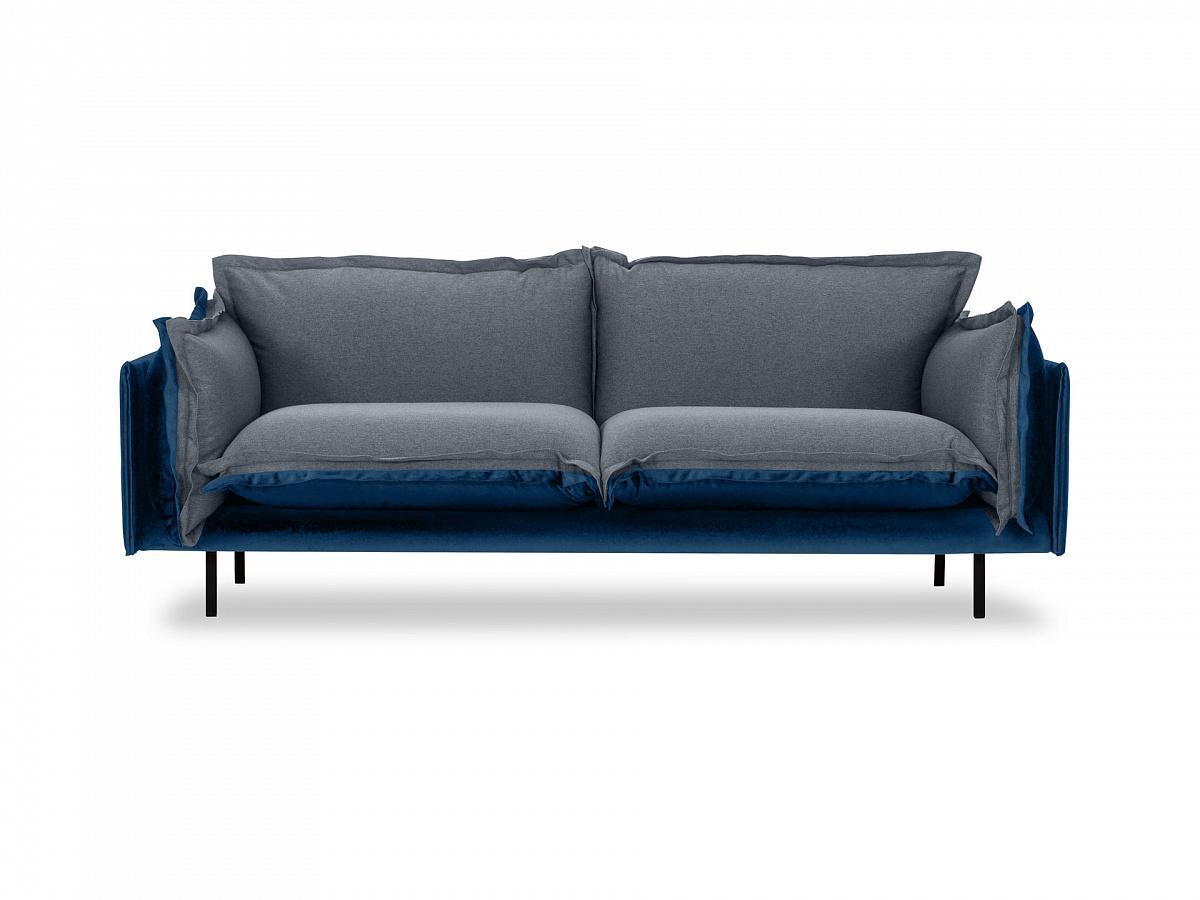 Ogogo диван двухместный barcelona серый 126195/7