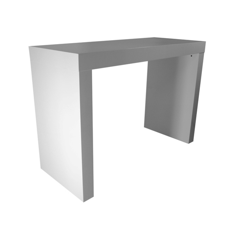 Барный стол FaroБарные столы<br>Барный стол выполнен из массива дерева под глянцевым белым лаком.<br><br>Material: Дерево<br>Length см: None<br>Width см: 145<br>Depth см: 60.5<br>Height см: 102