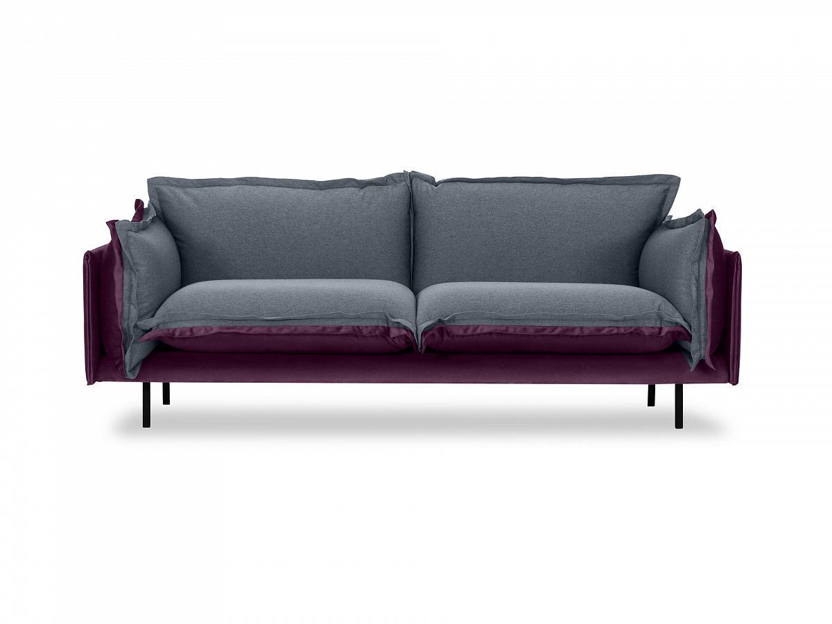 Ogogo диван двухместный barcelona серый 126218/1