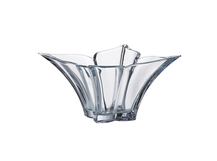 Салатник florale (crystalite bohemia) прозрачный