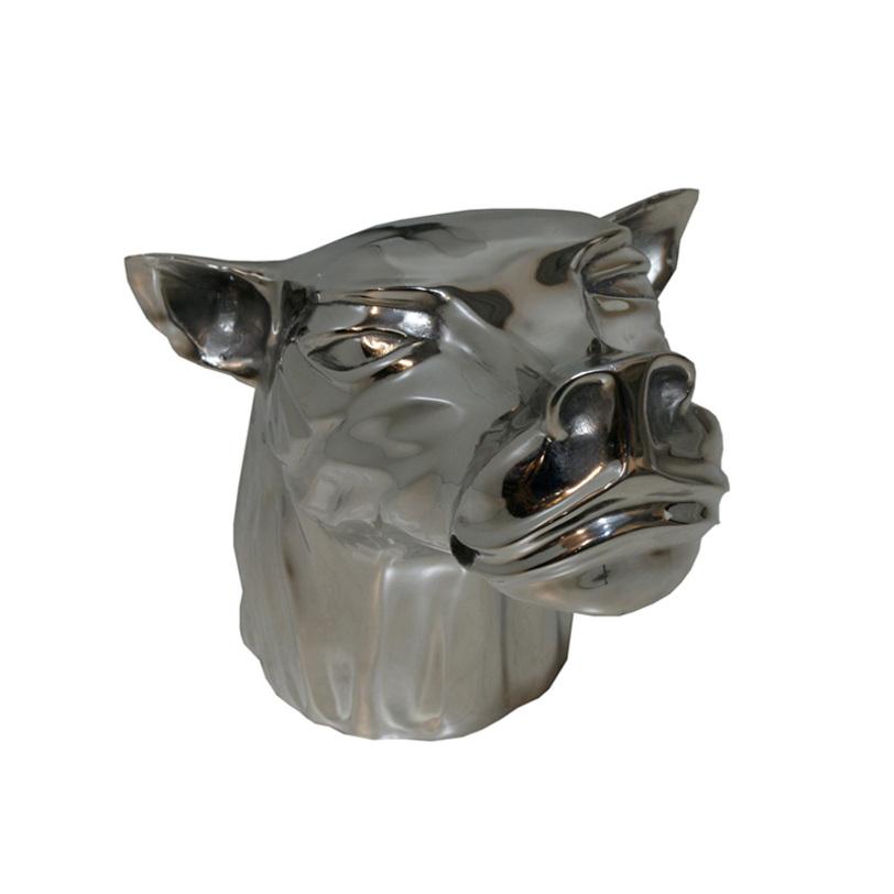 Статуэтка PredatorСтатуэтки<br>Статуэтка выполнена из никелированного металла.<br><br>Material: Металл<br>Width см: 35<br>Depth см: 40<br>Height см: 37