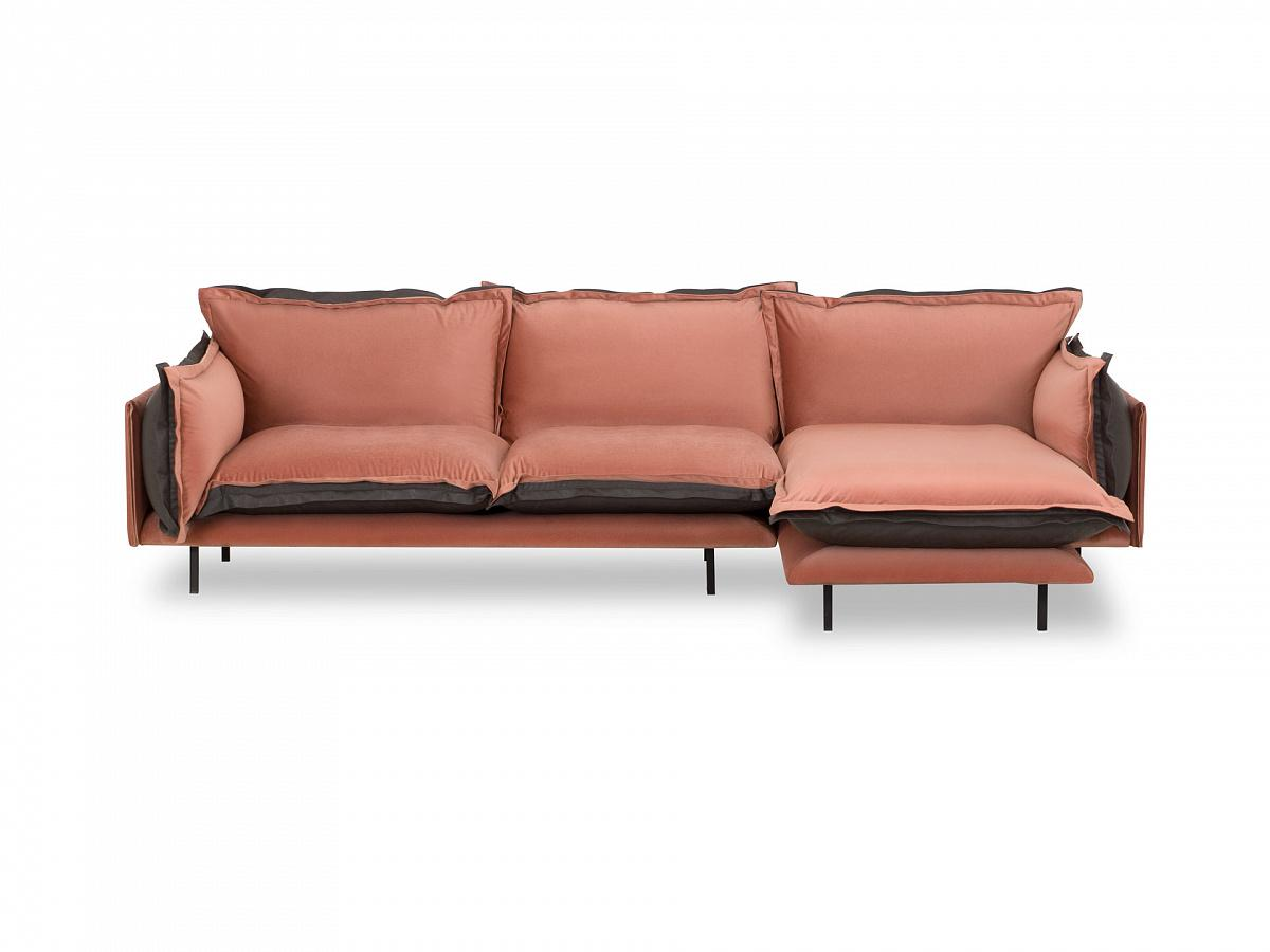 Ogogo диван barcelona розовый 126342/1