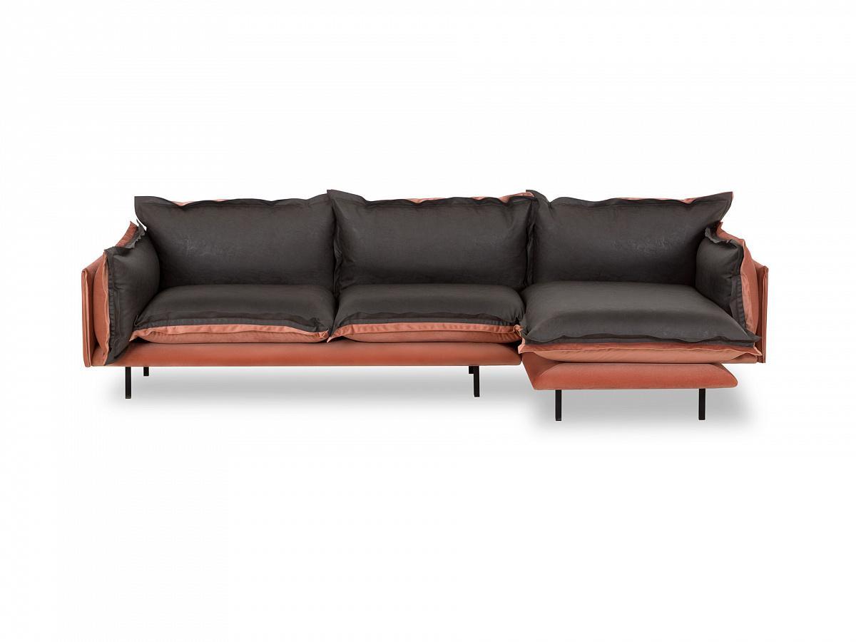 Ogogo диван barcelona черный 126343/7