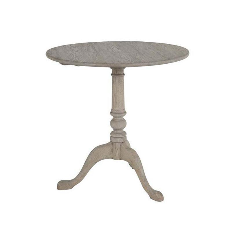 Стол TilttopКофейные столики<br>Деревянный стол из состаренного дуба. Столешница круглая.<br><br>Цвет: бежевый.<br><br>Material: Дуб<br>Length см: None<br>Width см: None<br>Depth см: None<br>Height см: 74.0<br>Diameter см: 75.0