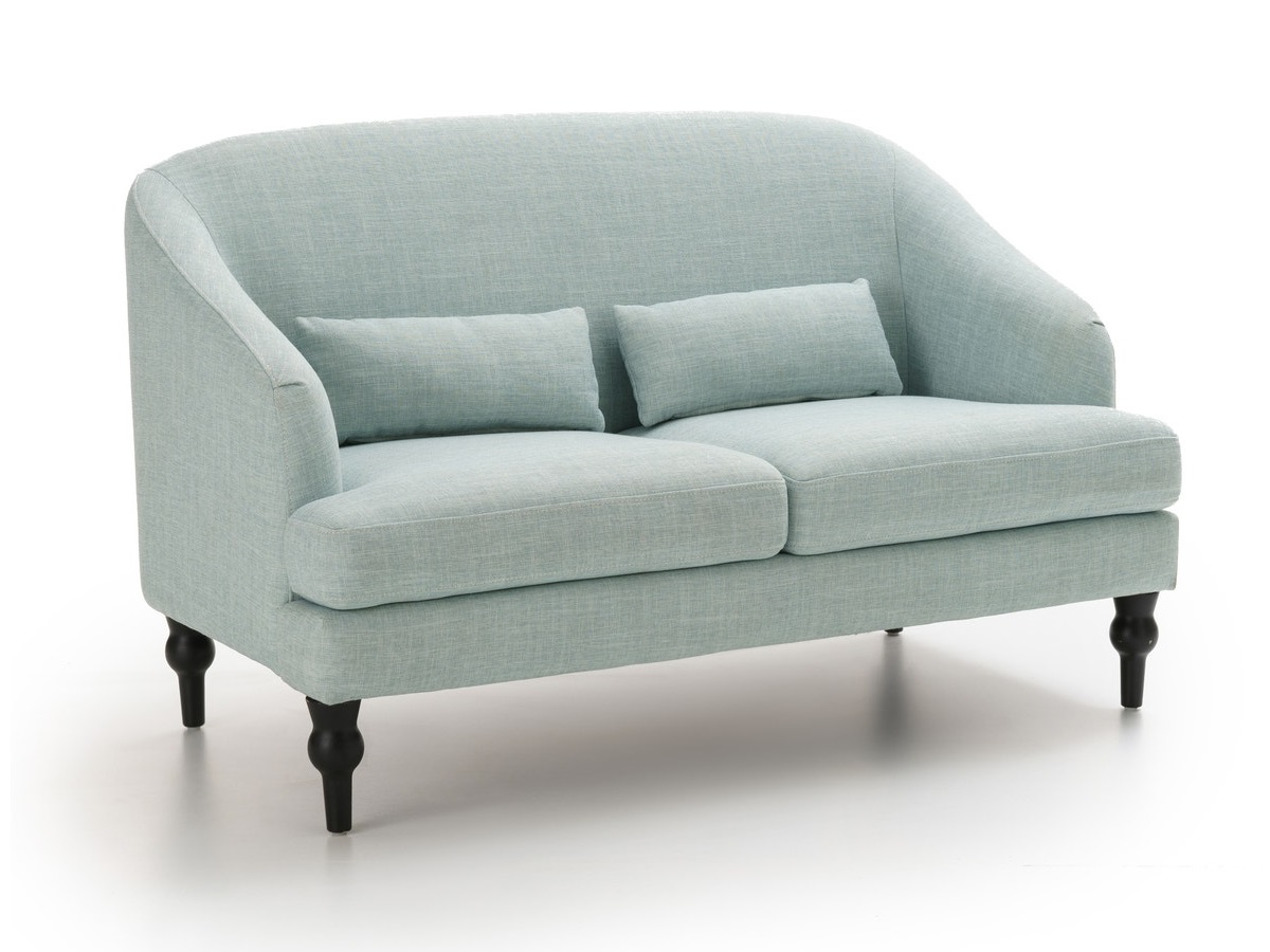 Laredoute диван двухместный belva голубой 126833/4