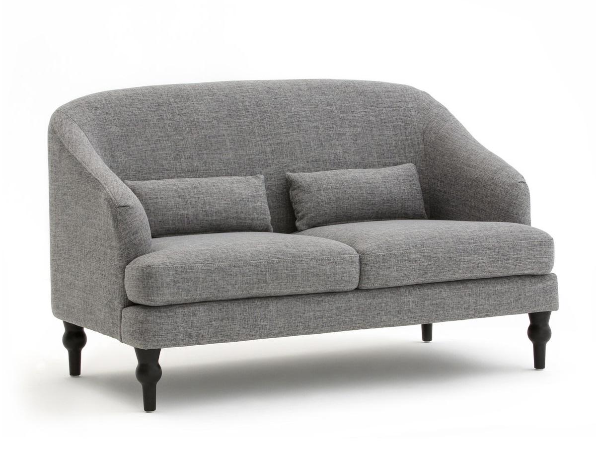 Laredoute диван двухместный belva серый 126834/5