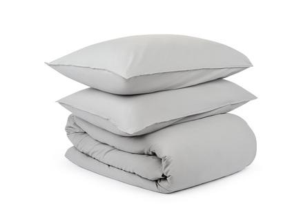 Комплект постельного белья essential (tkano) серый 150x200 см.
