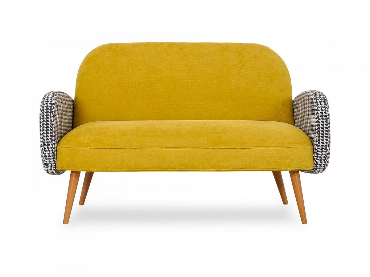 Ogogo диван bordo желтый 127571/7