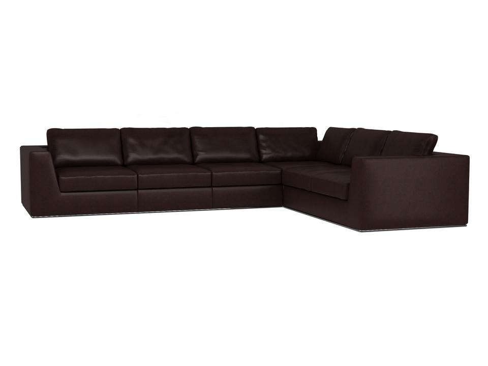 Ogogo диван igarka коричневый 127577/4
