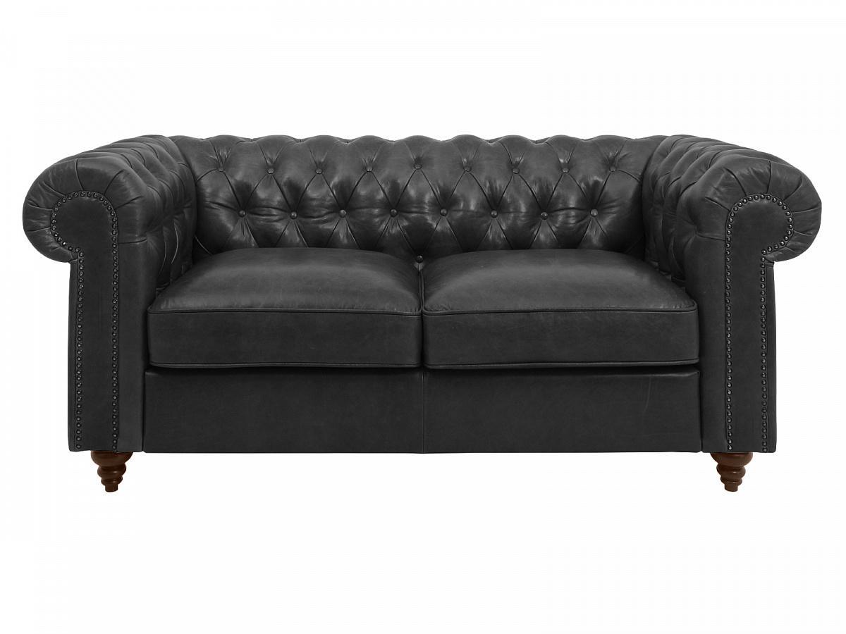 Ogogo диван chester classic черный 127601/6