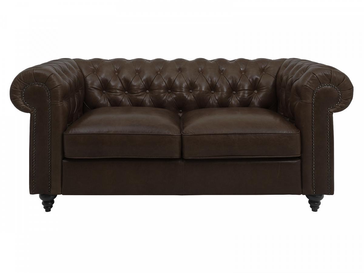 Ogogo диван chester classic коричневый 127603/2