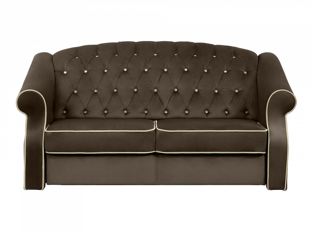 Ogogo диван boston коричневый 127606/6