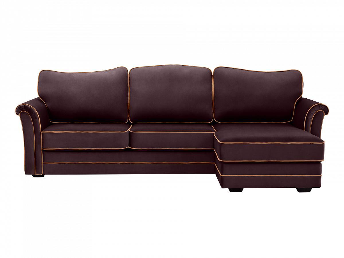 Ogogo диван sydney коричневый 127607/2