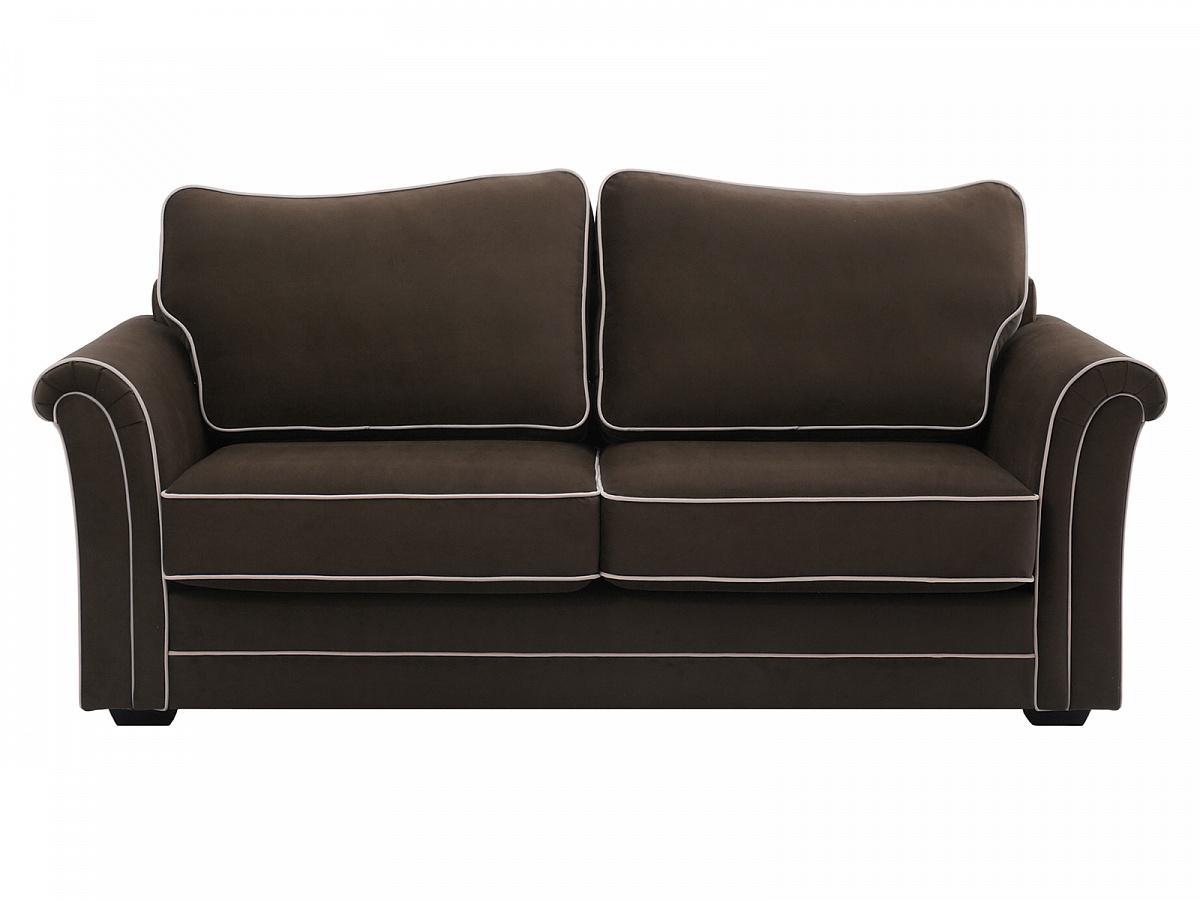 Ogogo диван двухместный sydney коричневый 127609/7