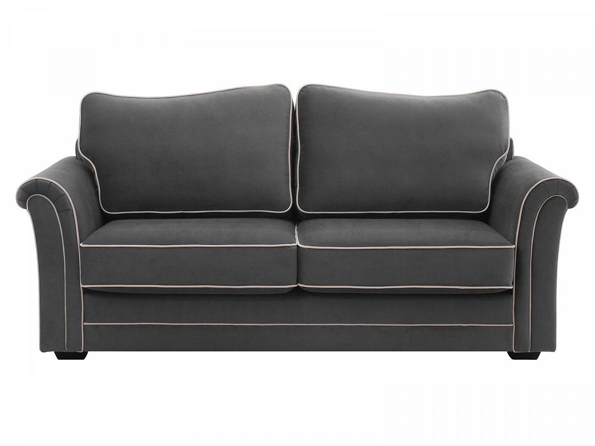 Ogogo диван двухместный sydney серый 127610/1