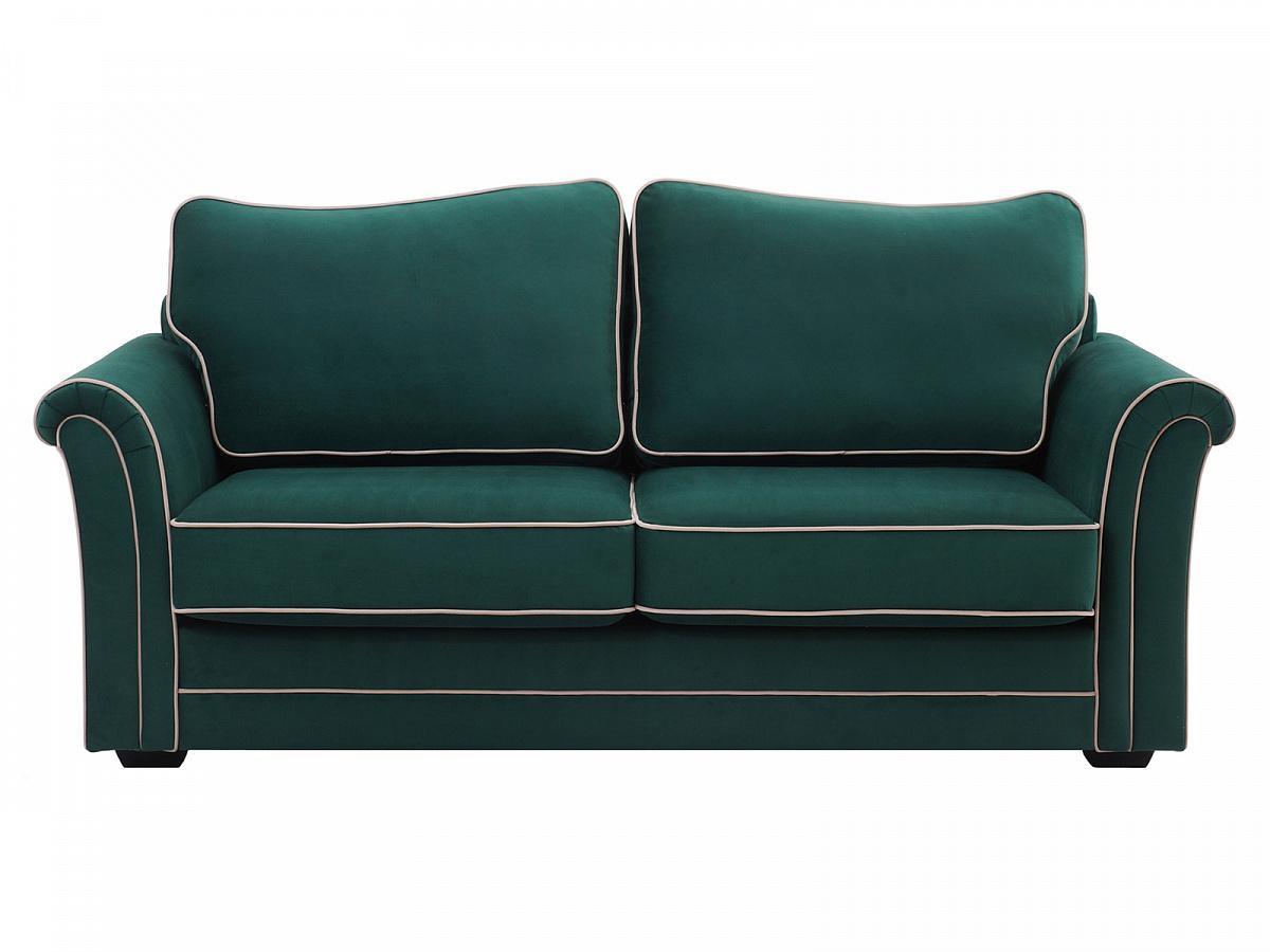 Ogogo диван двухместный sydney зеленый 127612/2