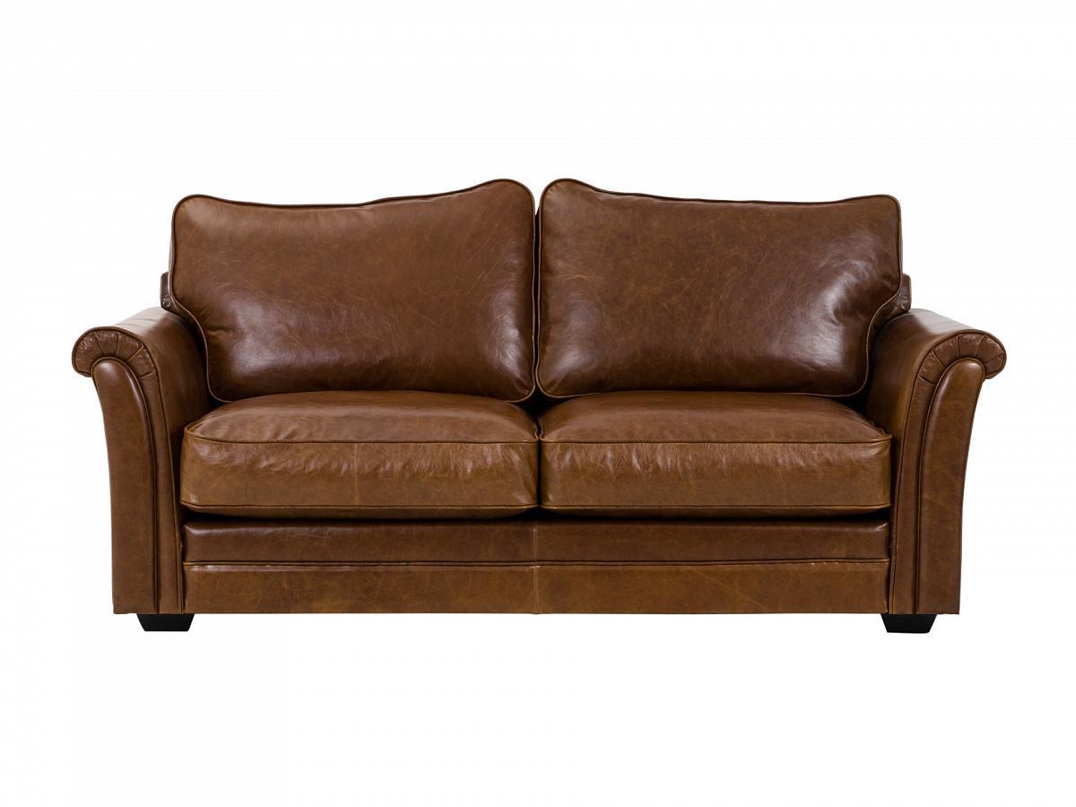Ogogo диван двухместный sydney коричневый 127617/1