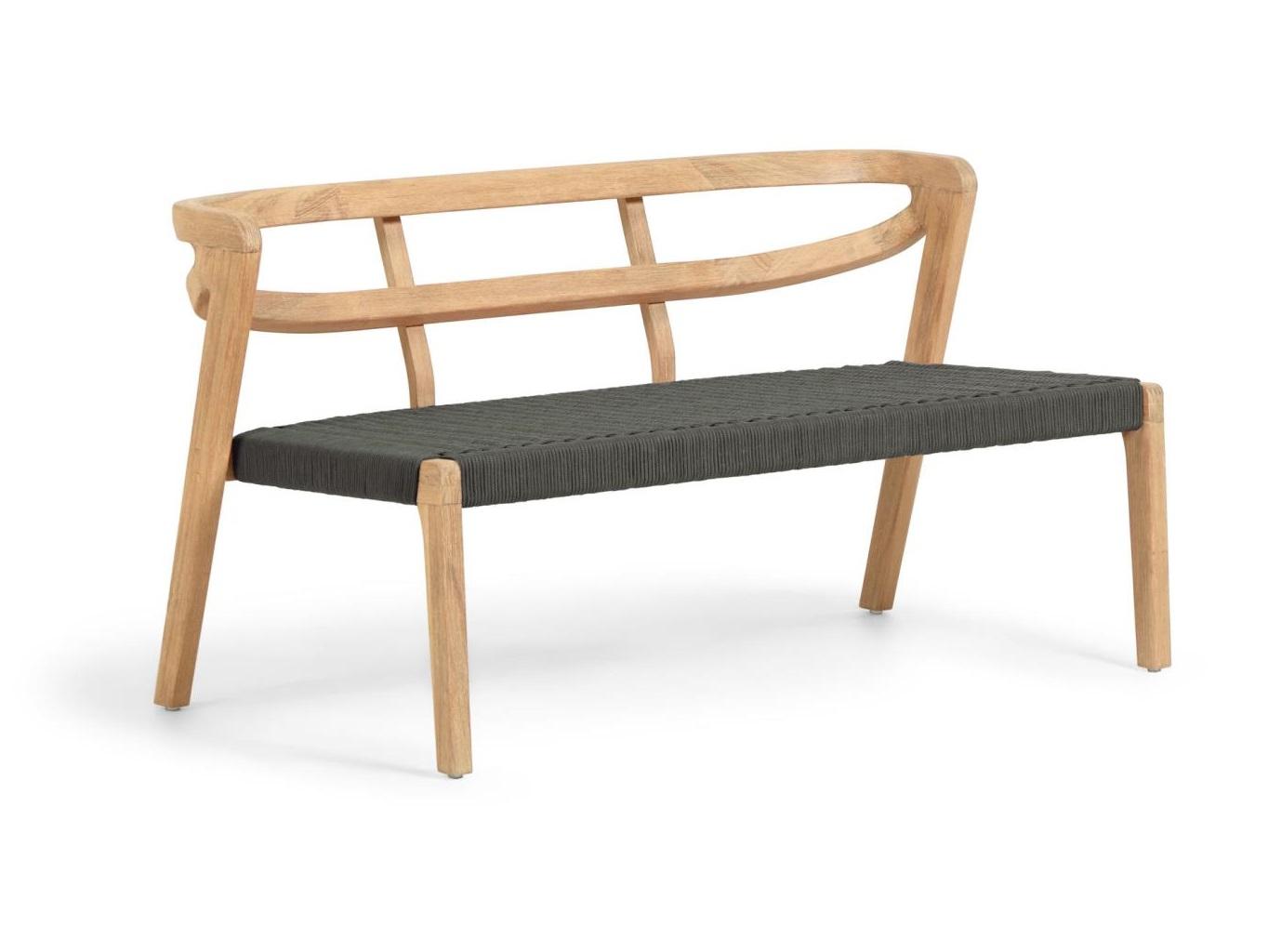 La forma двухместный диван ezilda коричневый 127778/7