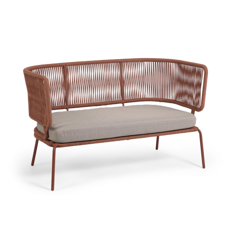 La forma диван двухместный nadin коричневый 127873/2