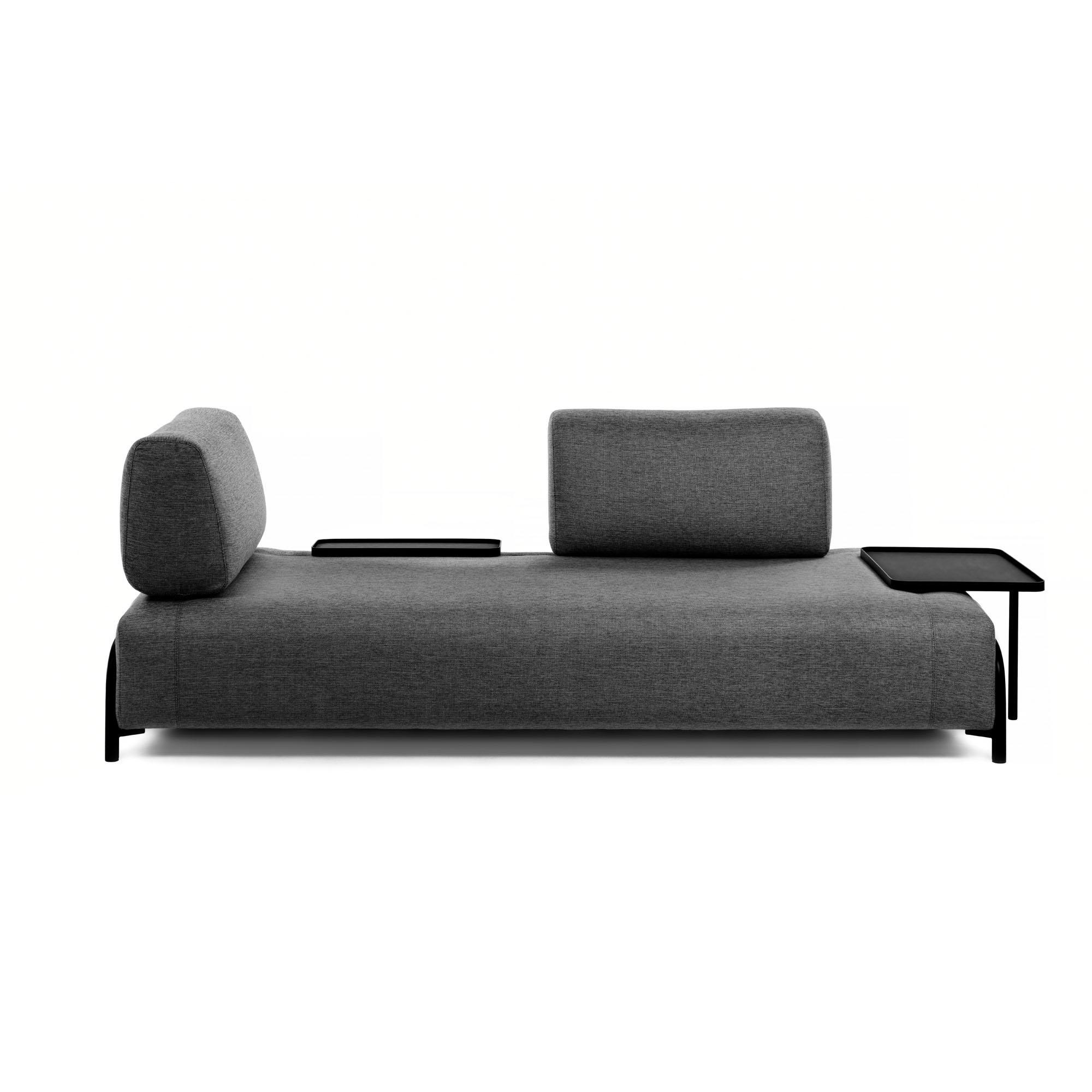 La forma трехместный диван compo серый 127907/4