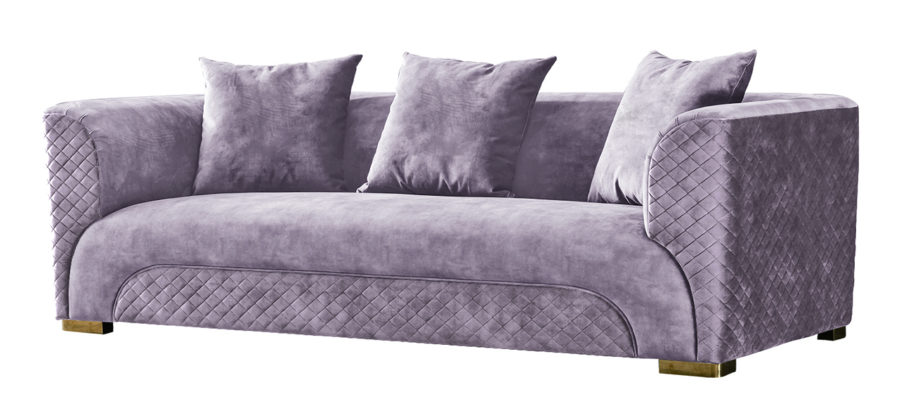 Garda decor диван трехместный бежевый 128197/2