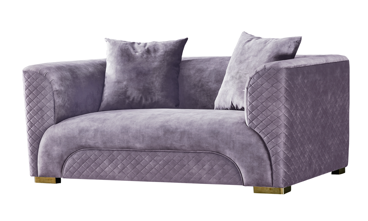 Garda decor диван двухместный бежевый 128199/1