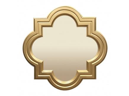 Настенное зеркало malaga (inshape) золотой