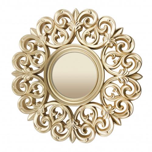 Зеркало настенное porto (inshape) золотой