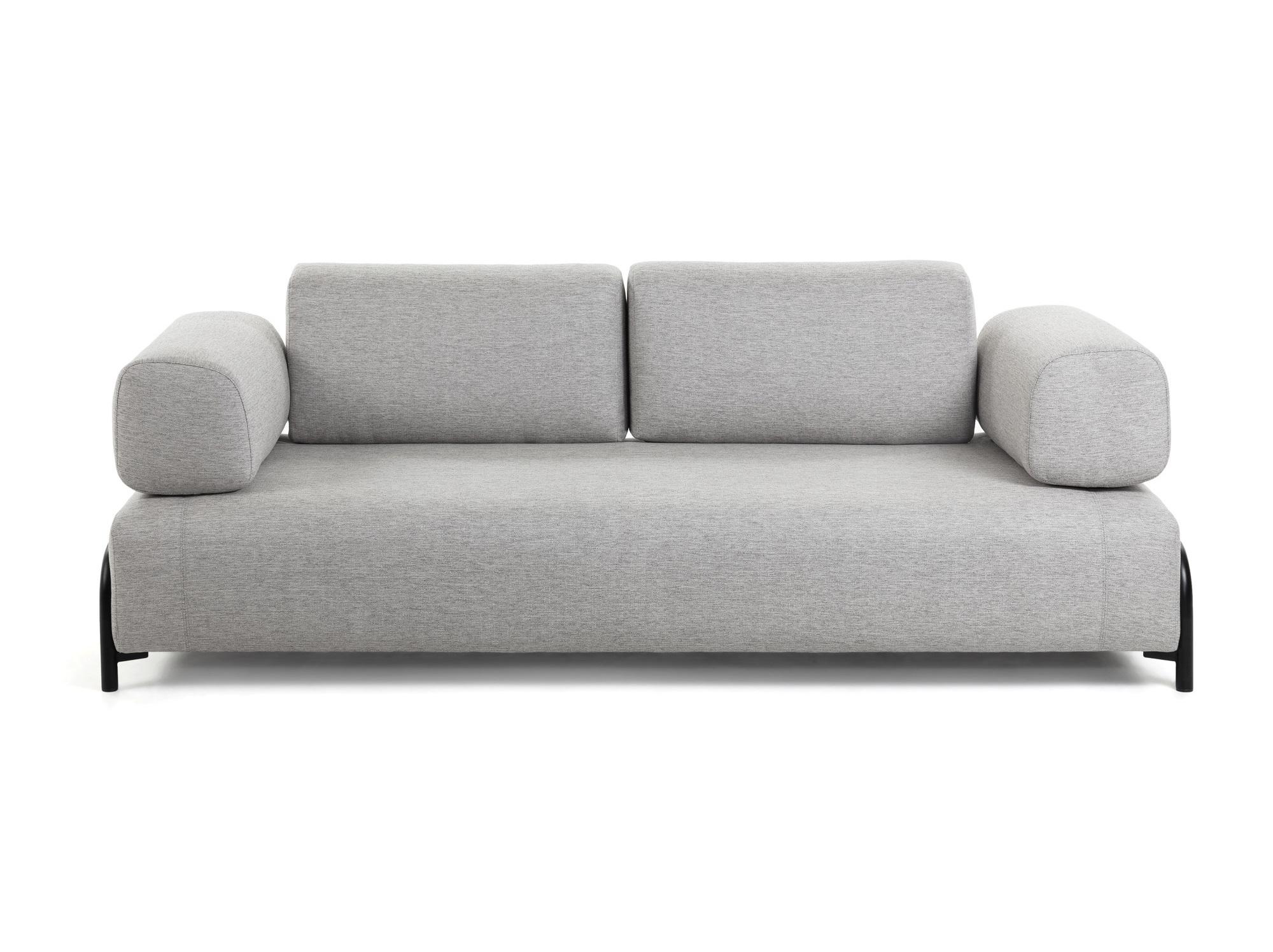 La forma диван трехместный compo серый 128448/9