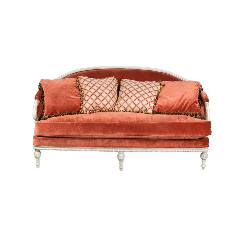 Диван ОрабельТрехместные диваны<br>Цвет: оранжевый<br>Материал: дерево, текстиль<br><br>Material: Текстиль<br>Length см: 230.0<br>Width см: 90.0<br>Height см: 102.0
