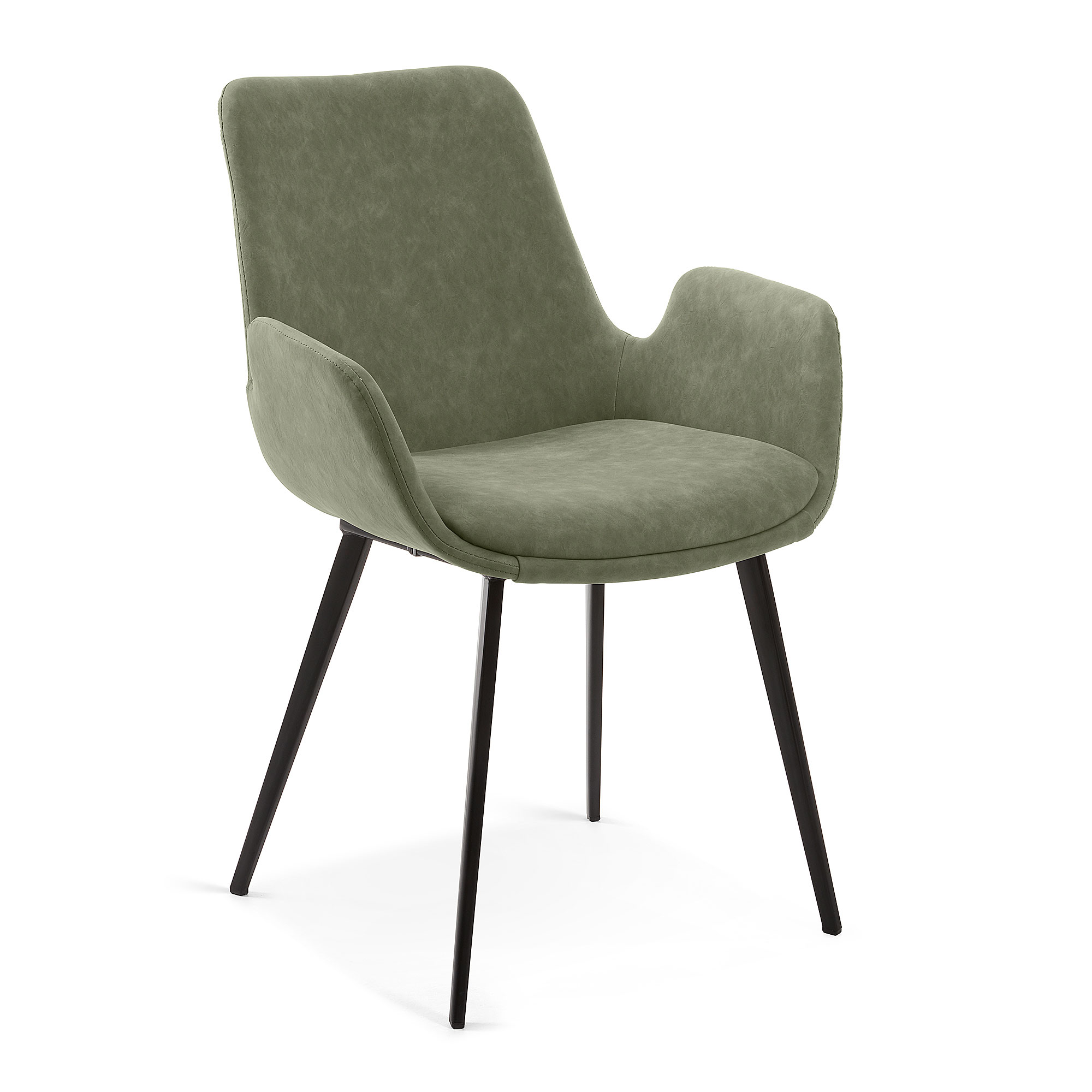 Стул hermann (la forma) зеленый 59x83x63 см.