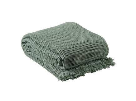 Покрывало essential (tkano) зеленый 180x250 см.