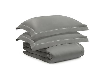 Комплект постельного белья essential (tkano) серый 200x220 см.