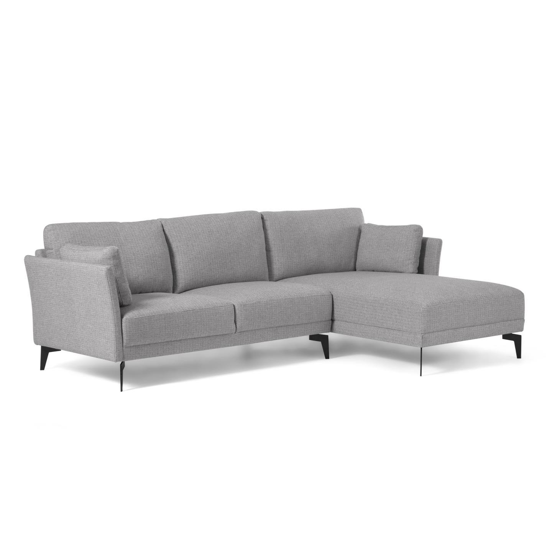 La forma угловой диван gilma серый 129110/3