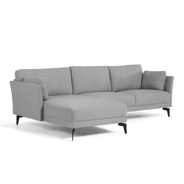 La forma угловой диван gilma серый 129111/8