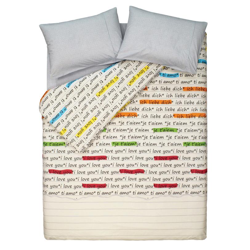"""Комплект постельного белья """"Love grey"""""""