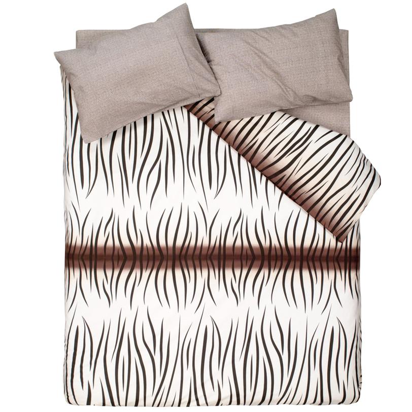 Комплект постельного белья Safari blackДвуспальные комплекты постельного белья<br>Размеры товара: EURO Пододеяльник: 200*220 см. (1 шт.) Простыня: 240*260 см. (1 шт.) Наволочки: 50*70 см. (2 шт.) Комплект из натурального нежного шелка, выполненный в спокойных пастельных тонах, придаст вашему отдыху несравненный комфорт. В коллекции «Minimal» представлены наборы постельного белья всех размеров, видов и комплектаций.<br><br>Material: Хлопок