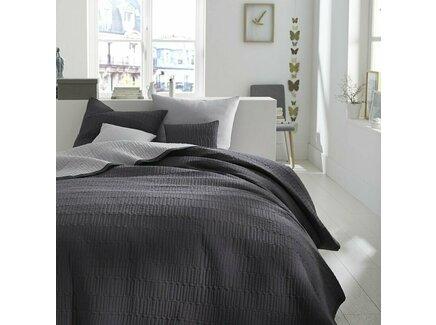 Покрывало aima (laredoute) серый 230x250 см.