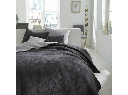 Покрывало aima (laredoute) серый 250x250 см.