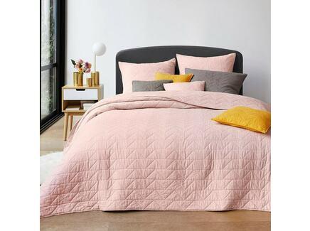 Покрывало scenario (laredoute) розовый 150x150 см.