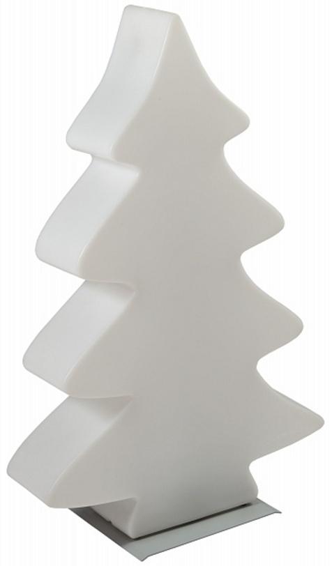 Декоративная елка с подсветкой Led baum miniДругое<br>Удивительная елка от Lumenio наполнит комнату мягким волшебным светом, подарив радость праздника взрослым и детям. Эта елка может стоять прямо на полу, но для установки на мягкие основания или для улучшения устойчивости можно использовать поставку (артикул - 17026). В комплекте подставка не идет.<br>Подсветка белого цвета.<br><br>Material: Пластик<br>Width см: 54<br>Depth см: 14<br>Height см: 82