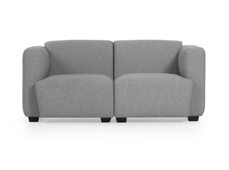 La forma диван двухместный legara серый 160 см. 129819/6