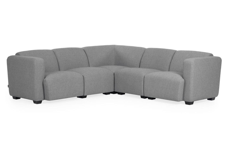 La forma угловой диван legara серый 226x226 см. 129929/1