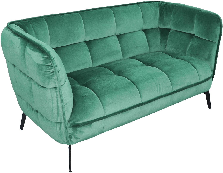 R-home диван двухместный осло бирюзовый 130402/1