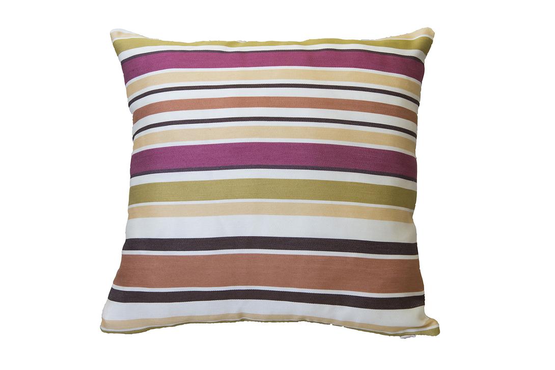 Подушка декоративная Happy Stripes IКвадратные подушки<br>&amp;lt;div&amp;gt;Подушка в яркую полоску – вещица модная. Тем оригинальнее эта &amp;quot;думка&amp;quot;. На ее чехле скомбинированы полосы сложных оттенков, достаточно смелые, чтобы украсить современный, небанальный интерьер.&amp;lt;/div&amp;gt;&amp;lt;div&amp;gt;&amp;lt;br&amp;gt;&amp;lt;/div&amp;gt;&amp;lt;div&amp;gt;Состав: 50% хлопок, 50% вискоза.&amp;lt;/div&amp;gt;<br><br>Material: Хлопок<br>Length см: 40.0<br>Width см: 40.0<br>Depth см: None<br>Height см: None<br>Diameter см: None