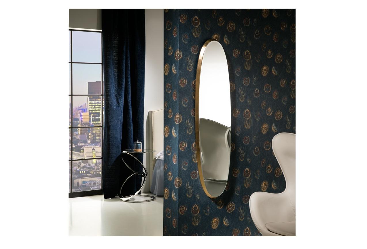 Зеркало aries (schuller) золотой 36x136x4 см.