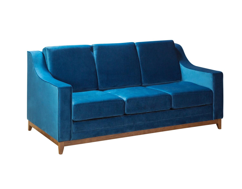 R-home диван раскладной модерн лайт_звездная ночь синий 131404/4