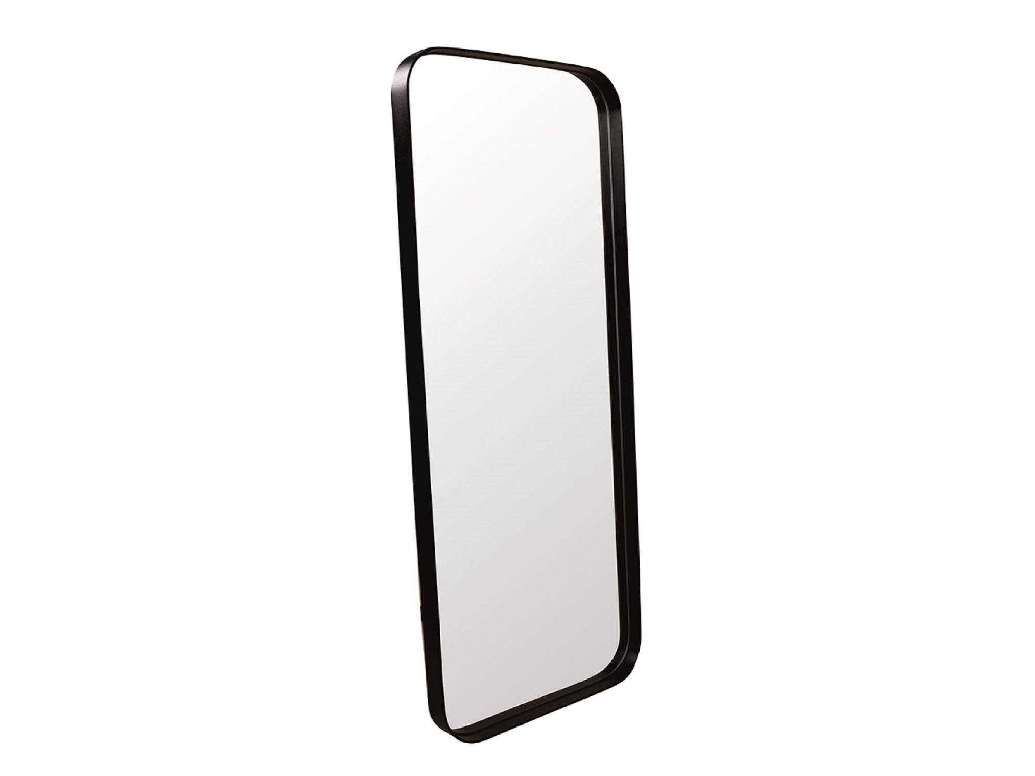 Настенное зеркало кира 140*60 (simple mirror) черный 60.0x140.0x4.0 см.