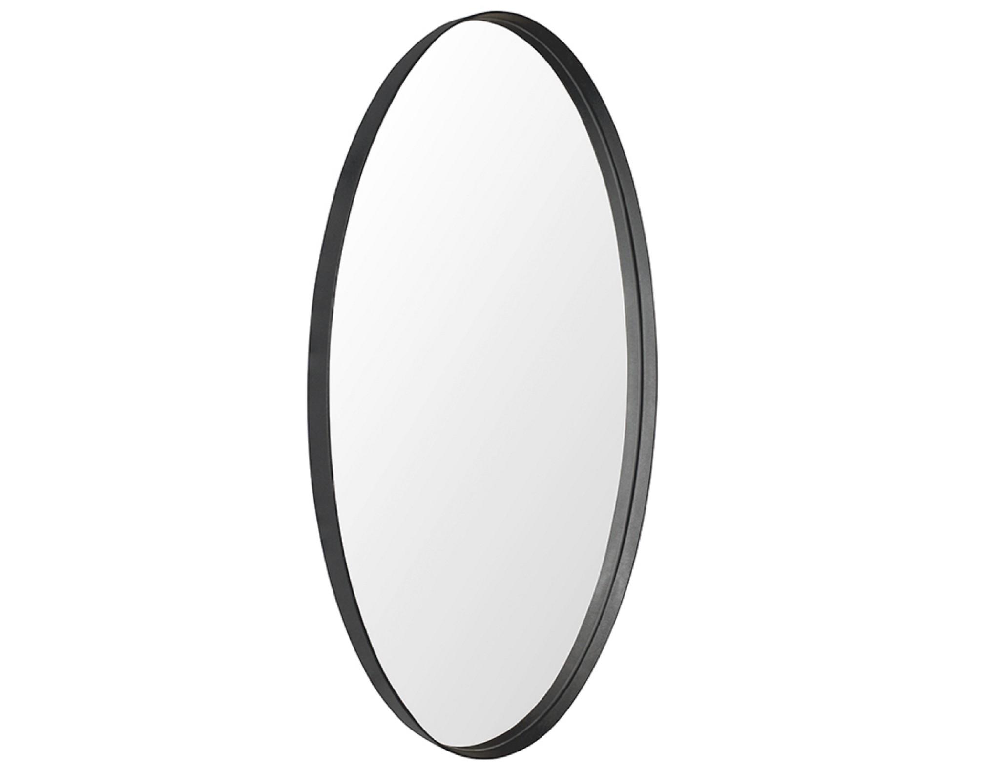 Настенное зеркало лила 80*40 (simple mirror) черный 40.0x80.0x4.0 см.
